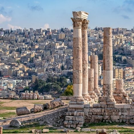 Temple of Hercules at Amman Citadel
