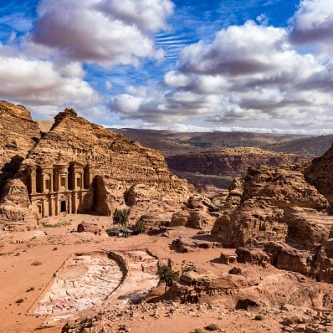 Hiking on the Monastery Trail in Petra