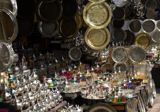 Souk with Jordanian Kitchenware