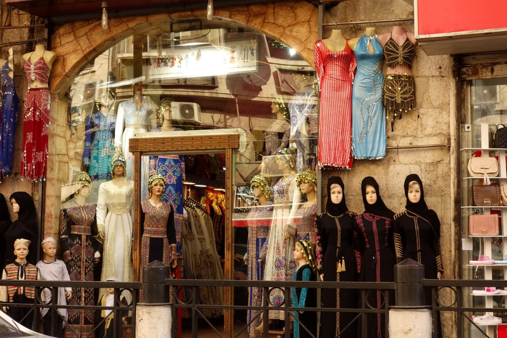 A Traditional Clothing Store in Amman Downtown