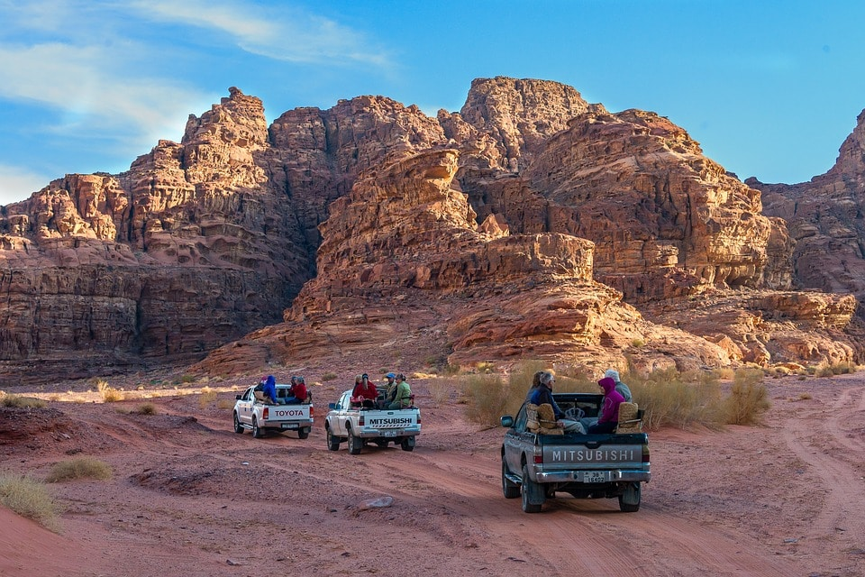 Jeep safari wadi rum